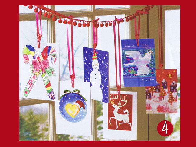 15 Ways To Display Your Christmas Cards