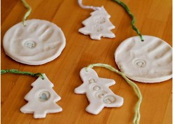 Kids Craft: Salt Dough Ornaments