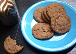 Holiday Cookie Swap! Chewy Butterscotch Spice Cookies