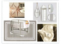 Elegant Gold And Silver Nursery