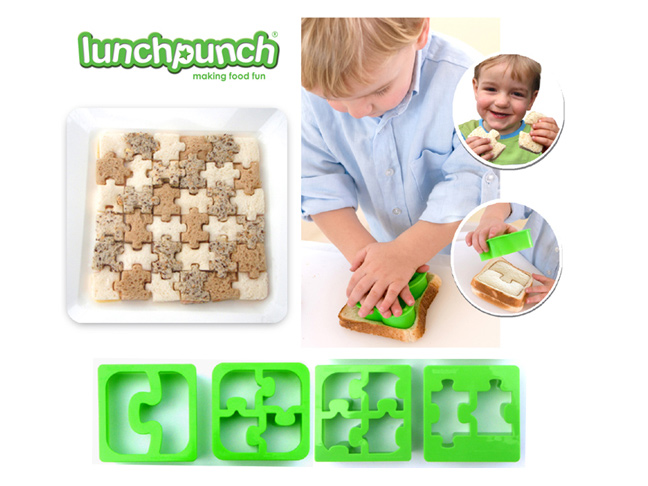 171345 Make Food Fun With Lunch Punch Sandwich Cutters on Frog Crafts