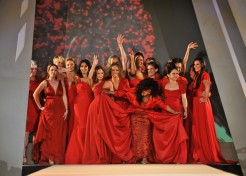 Celebrities Hit The Runway For The Heart Truth Red Dress Fall Collection