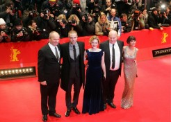Robert Pattinson's Family Turns Out To Support Him At The 'Bel Ami' Premiere In Berlin