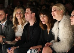 Celebrities Turn Out For London's Fashion Week