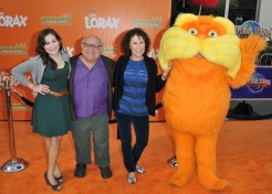 Dr. Seuss' The Lorax Premieres At Universal Studios