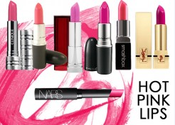 Yes to Hot Pink Lips for Spring