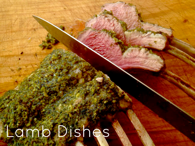 Pesto Rack of Lamb