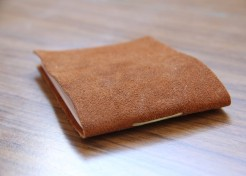 DIY: Leather Notebook