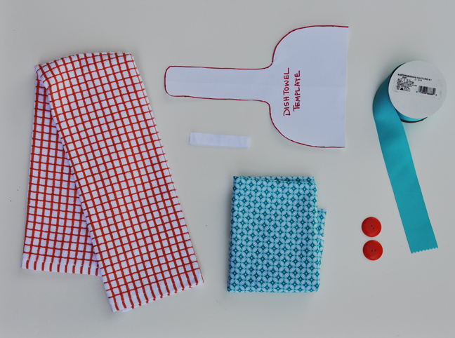 MATERIALS (for 2 Hanging Towels)