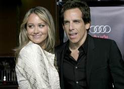 Christine Taylor And Ben Stiller Try To Change Their Kids' Eating Habits