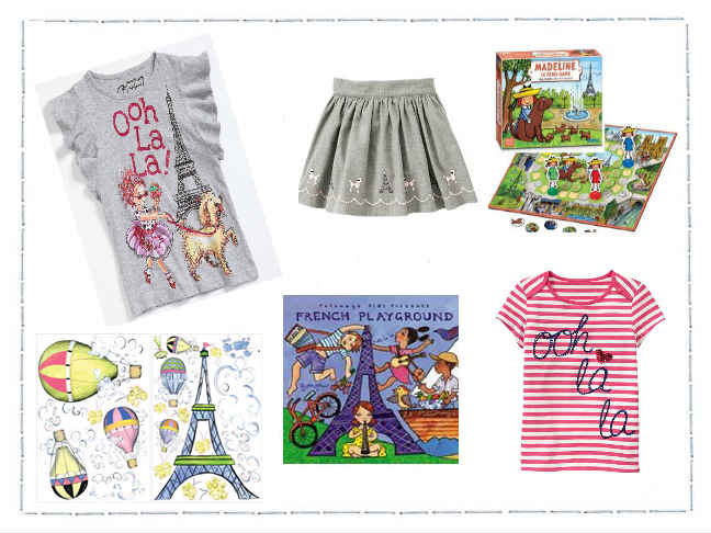GIrls Paris Items