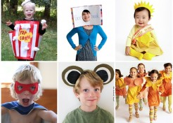 14 DIY No-Sew Halloween Kid Costumes
