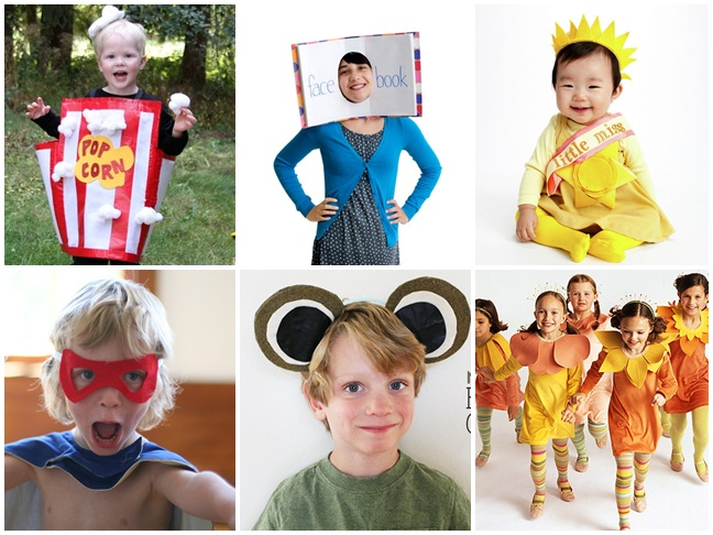 diy no sew costume ideas - Halloween Costumes Diy Kids