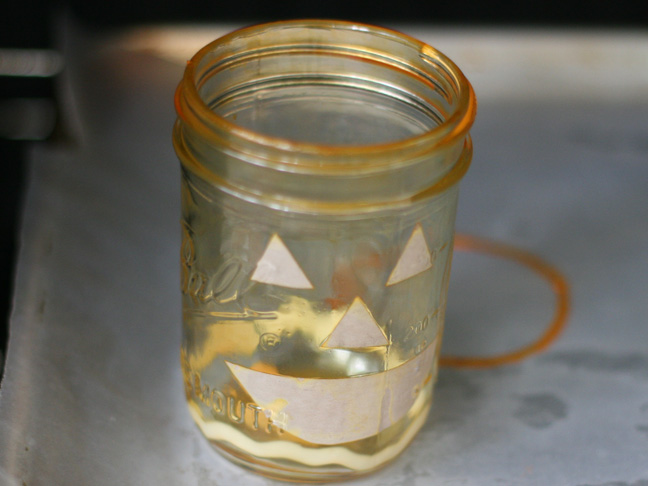 Pumpkin Mason Jars DIY Craft - Step 11