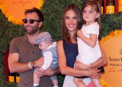 Photos: Celebrity Families Attend the Veuve Clicquot Polo Classic