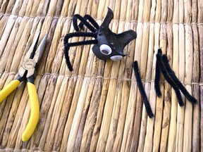 Halloween Spider Treat Cups DIY Craft - Step 6