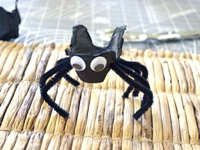 Halloween Spider Treat Cups DIY Craft - Step 7