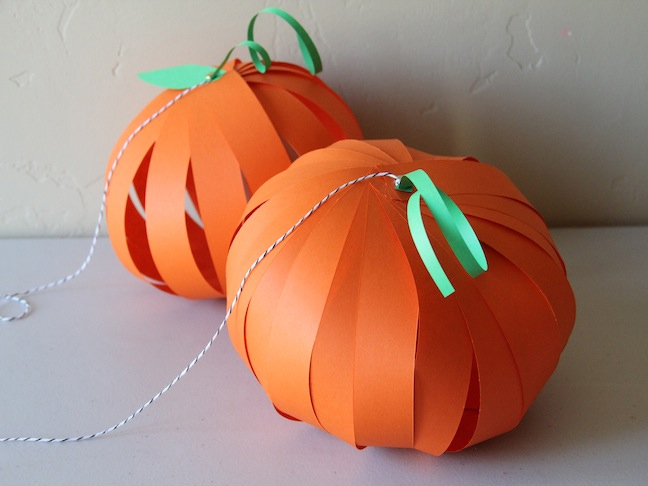Pumpkin Lantern DIY Craft - Step 10