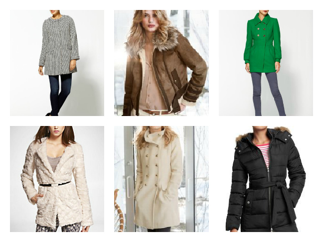 Shopping - Coats for Fall and Winter