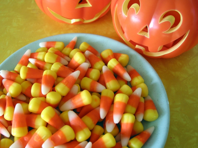 Sweets Corn - Health Halloween Alternatives