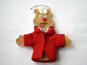 Fozzie Bear Ornament Craft