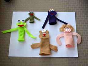 Muppet Ornament Craft - Step 6