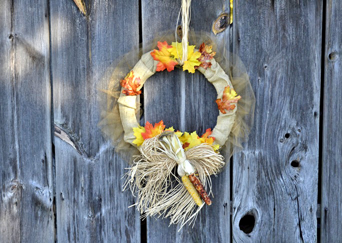 Fall Wreath - Step 10