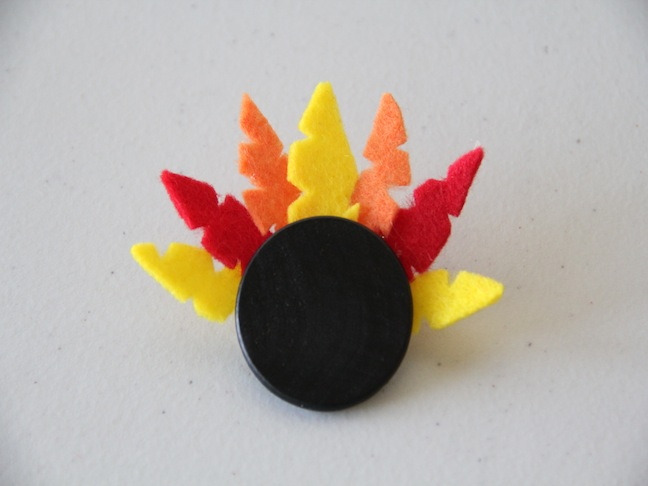 Turkey Pin Craft - Step 3