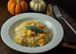 Butternut Squash and Parmesan Risotto Recipe