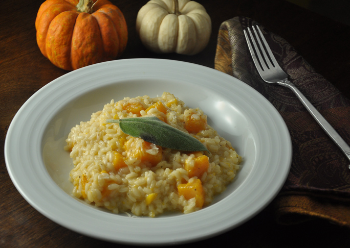 Butternut Squash Parmesan Risotto Recipe