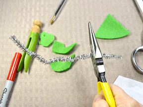 Christmas Ornament Craft - Step 3