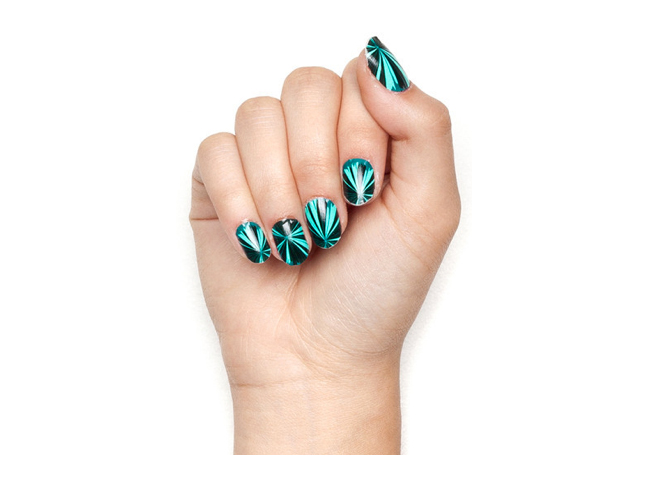 DIY Nails for New Years Eve