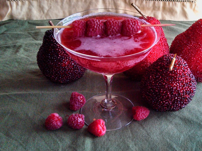 Raspberry Shrub Mocktail Recipe
