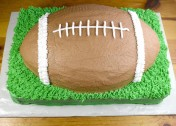 How to Make a Football Cake (Recipe & Tutorial)