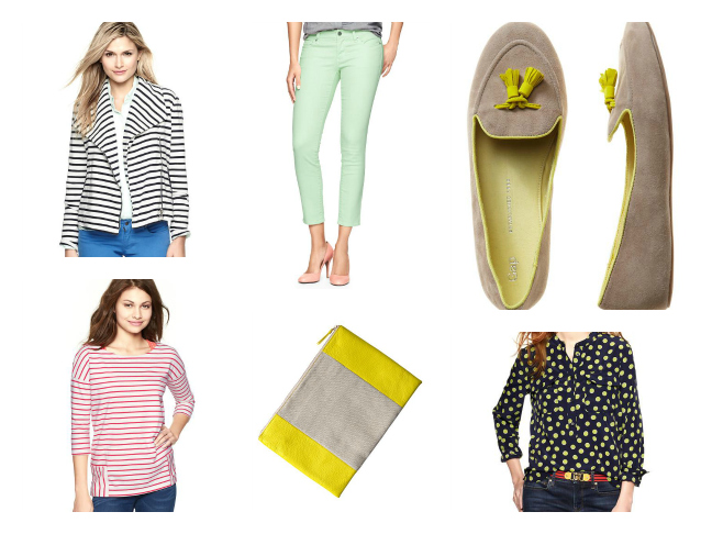 Spring Clothes for Wmen from The Gap