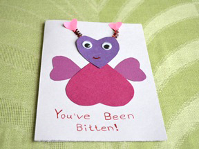 Homemade Valentine's Day Card Craft - Step 13