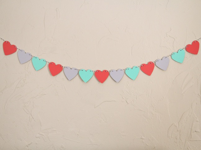Heart Garland Craft