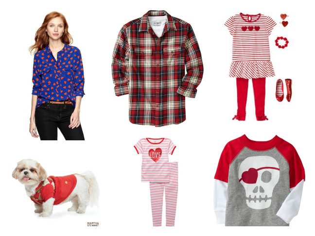Valentine's Day Outfits for Whole Family
