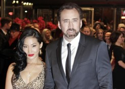 """Photos: Emma Stone and Nicolas Cage Premiere """"The Croods"""" In Germany"""