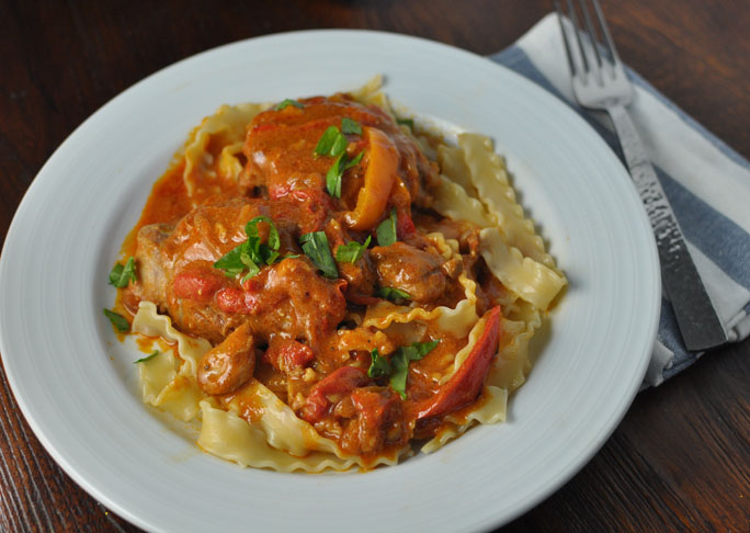 Recipe for chicken paprikash