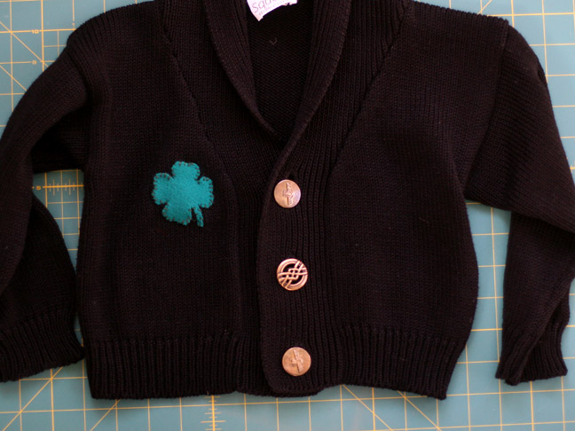 CLOVER APPLIQUE
