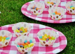 DIY: Fabric Easter Trays