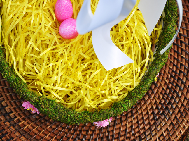 MOSS EASTER BASKET