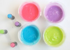 Kids Activity: Edible Homemade Finger Paint