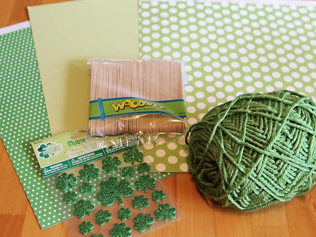 green craft supplies