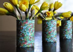 Easter DIY: Recy-can Vase