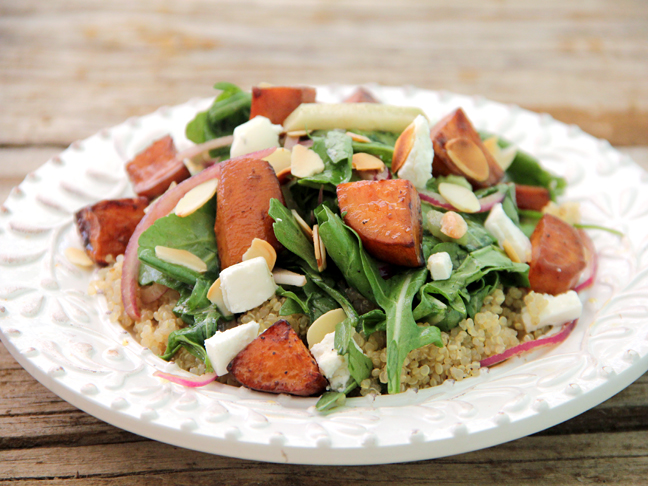 Quinoa Sweet Potato Salad Recipe