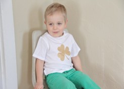 Shamrock Shirt DIY Craft