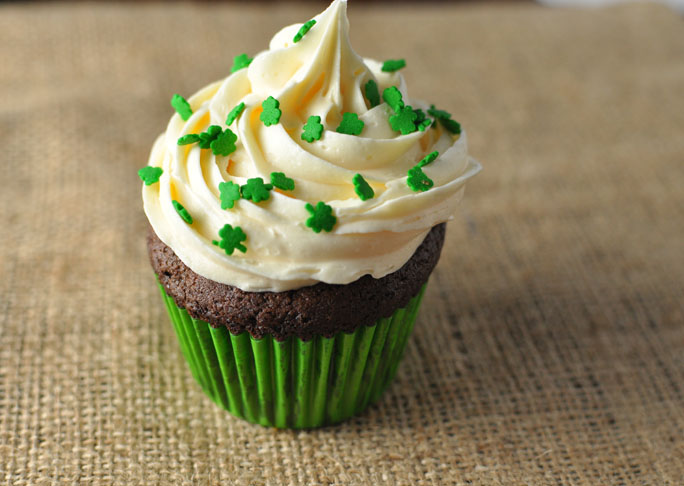 Stout St. Paddy's Day Cupcakes Recipe