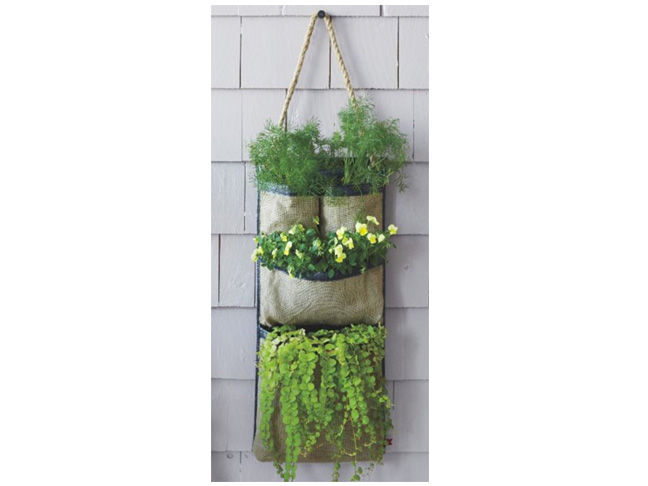 Vertical gardening for small spaces - Planters for small spaces ...